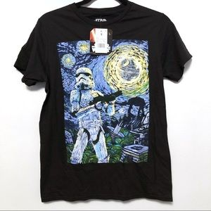 Star Wars Van Gogh t-shirt NWT